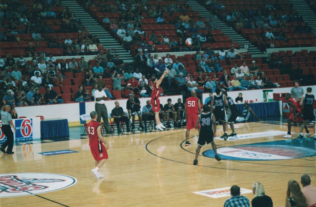 That's me jumping right there. #25 is Jimmy King from the Fab 5